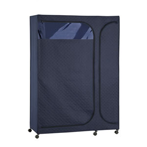 Sapphire Blue Storage Armoire