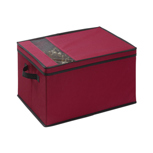 Red Christmas Storage Box