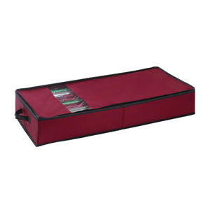 Red Christmas Wrapping Paper Organizer