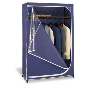 Blue Deluxe Storage Wardrobe