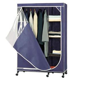 Deluxe Blue Storage Wardrobe