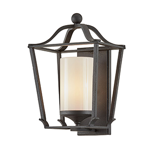 Princeton French Iron 10-Inch One-Light Wall Sconce