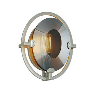 Prism Silver Seven-Inch One-Light ADA Wall Sconce