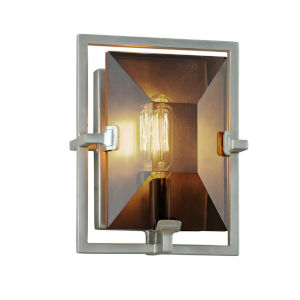 Prism Silver One-Light ADA Wall Sconce