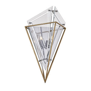 Epic Gold Two-Light Wall Sconce