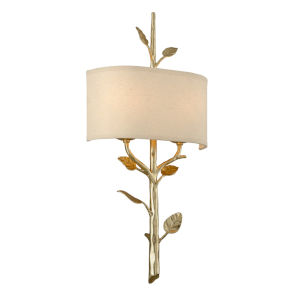 Almont Gold Two-Light Wall Sconce