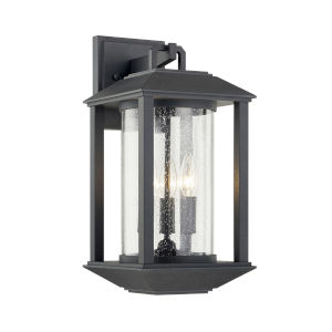 Mccarthy Weathered Graphite Three-Light Wall Sconce