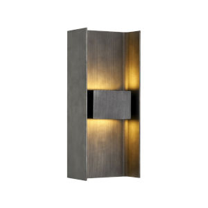 Scotsman Graphite Two-Light ADA LED Wall Sconce