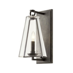Adamson French Iron One-Light Eight-Inch Wall Sconce