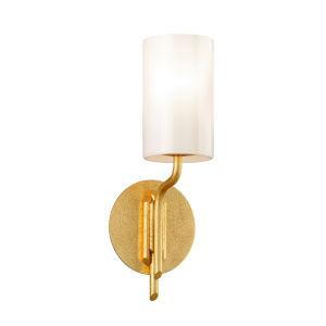 Juniper Textured Gold One-Light Bath Vanity