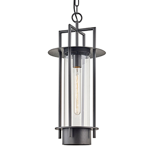 Carroll Park Bronze One-Light Pendant