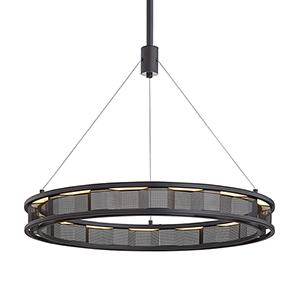 Fuze Modern Bronze 29-Inch LED Pendant