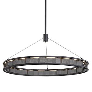 Fuze Modern Bronze 38-Inch LED Pendant