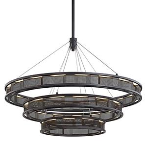 Fuze Modern Bronze LED Pendant
