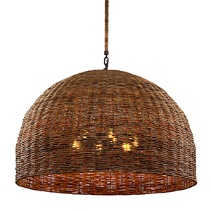 Huxley Tidepool Bronze Six-Light Pendant