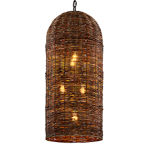 Huxley Tidepool Bronze Five-Light Pendant