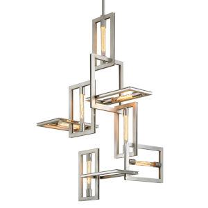 Enigma Silver Seven-Light Pendant