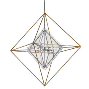 Epic Gold Six-Light Pendant
