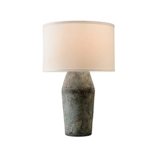 Artifact Moonstone Table Lamp with Linen shade