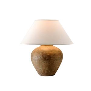 Calabria Reggio Table Lamp with Linen shade