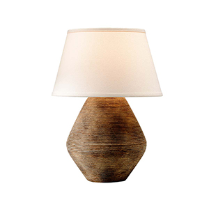 Calabria Rustco Table Lamp with Linen shade