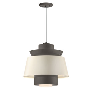 Aero Textured Bronze LED 14-Inch Pendant