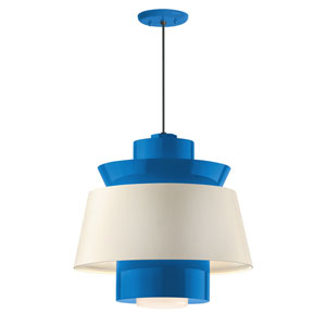 Aero Blue LED 16-Inch Pendant