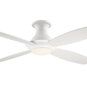 Bayview White 52-Inch LED Ceiling Fan