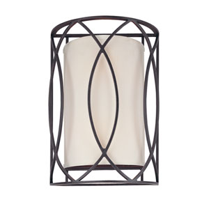 Sausalito Deep Bronze Two-Light Wall Sconce