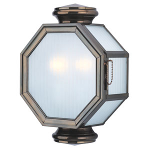 Lexington Small Two-Light Outdoor Wall Mount