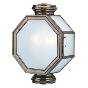 Lexington Large Two-Light Outdoor Wall Mount
