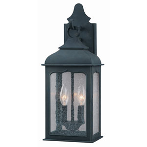 Williamsburg® Henry Street Large Two-Light Outdoor Wall Mount
