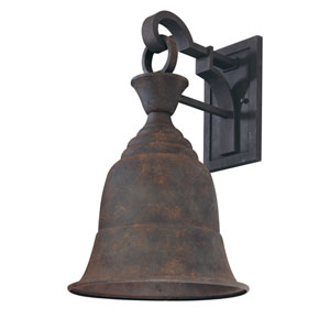 Liberty Centennial Rust One-Light Dark Sky Large Outdoor Wall Mount