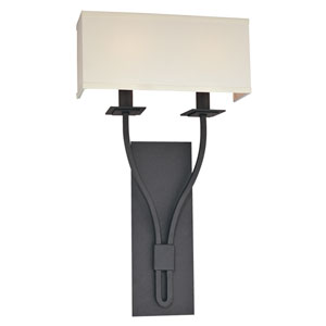Sconces Federal Bronze Two-Light Wall Sconce