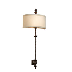 Umbria Bronze Two-Light Wall Mount