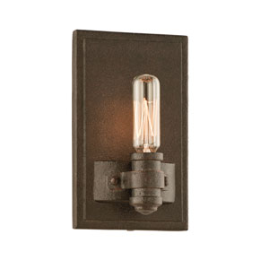 Shipyard Bronze Pike Place One-Light Wall Mount