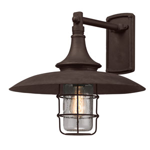Centennial Rust Allegany Large One-Light Wall Mount