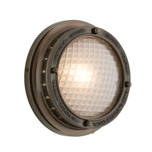 Marine Bronze Norfolk One-Light Wall Mount