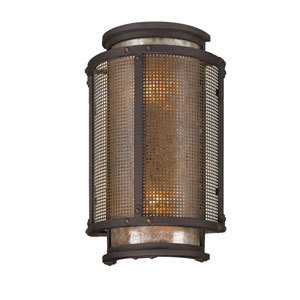 Bronze Copper Mountain Medium Two-Light Wall Mount