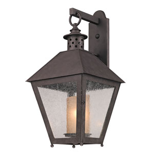 Centennial Rust Sagamore Large One-Light Wall Mount