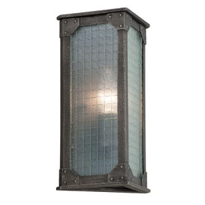 Hoboken Aged Pewter One Light Wall Sconce