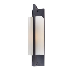 Blade Forged Iron One-Light Outdoor Wall Light