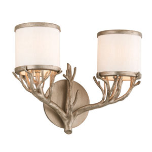 Whitman Vienna Bronze Two Light Vanity Fixture