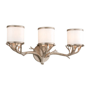 Whitman Vienna Bronze Three Light Vanity Fixture