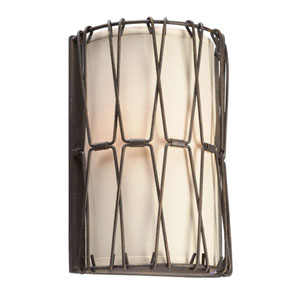 Buxton Vintage Bronze Two-Light Wall Sconce