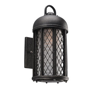 Signal Hill Aged Silver One-Light Six-Inch Outdoor Wall Sconce