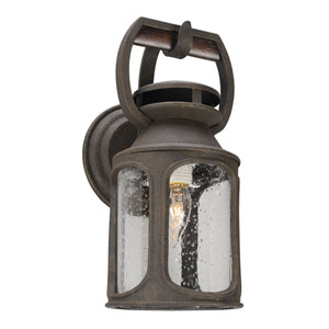 Old Trail Centennial Rust One-Light Six-Inch Outdoor Wall Sconce