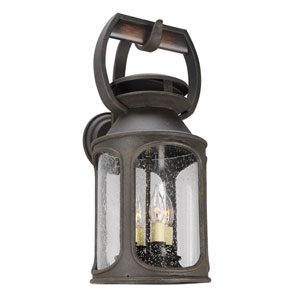 Old Trail Centennial Rust Four-Light Outdoor Wall Sconce