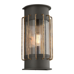 Cabot Bronze One-Light Eight-Inch Outdoor Wall Sconce