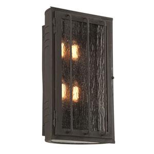 Joplin Charred Bronze Four-Light Outdoor Wall Sconce